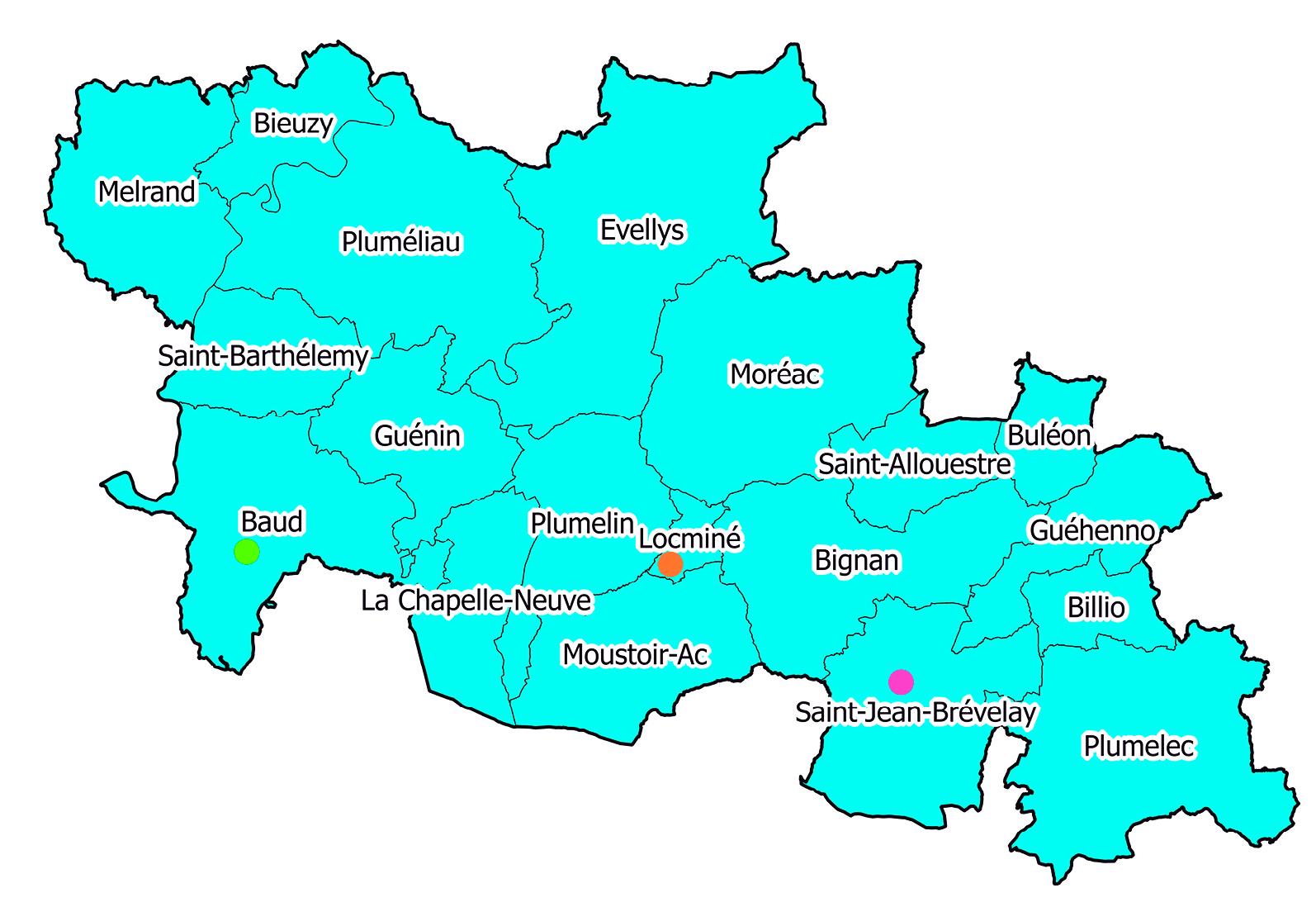 Localisation des services